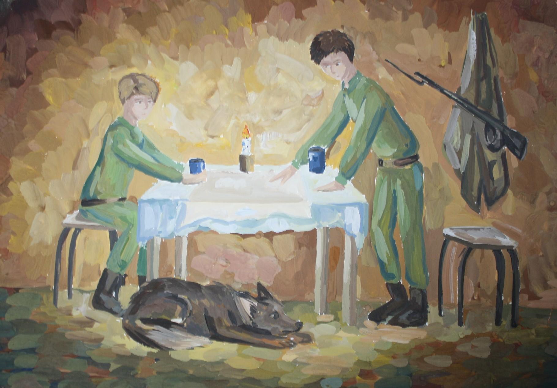 Автор - Стороженко Ксюша, 13 лет, пр. Котова А.Н.