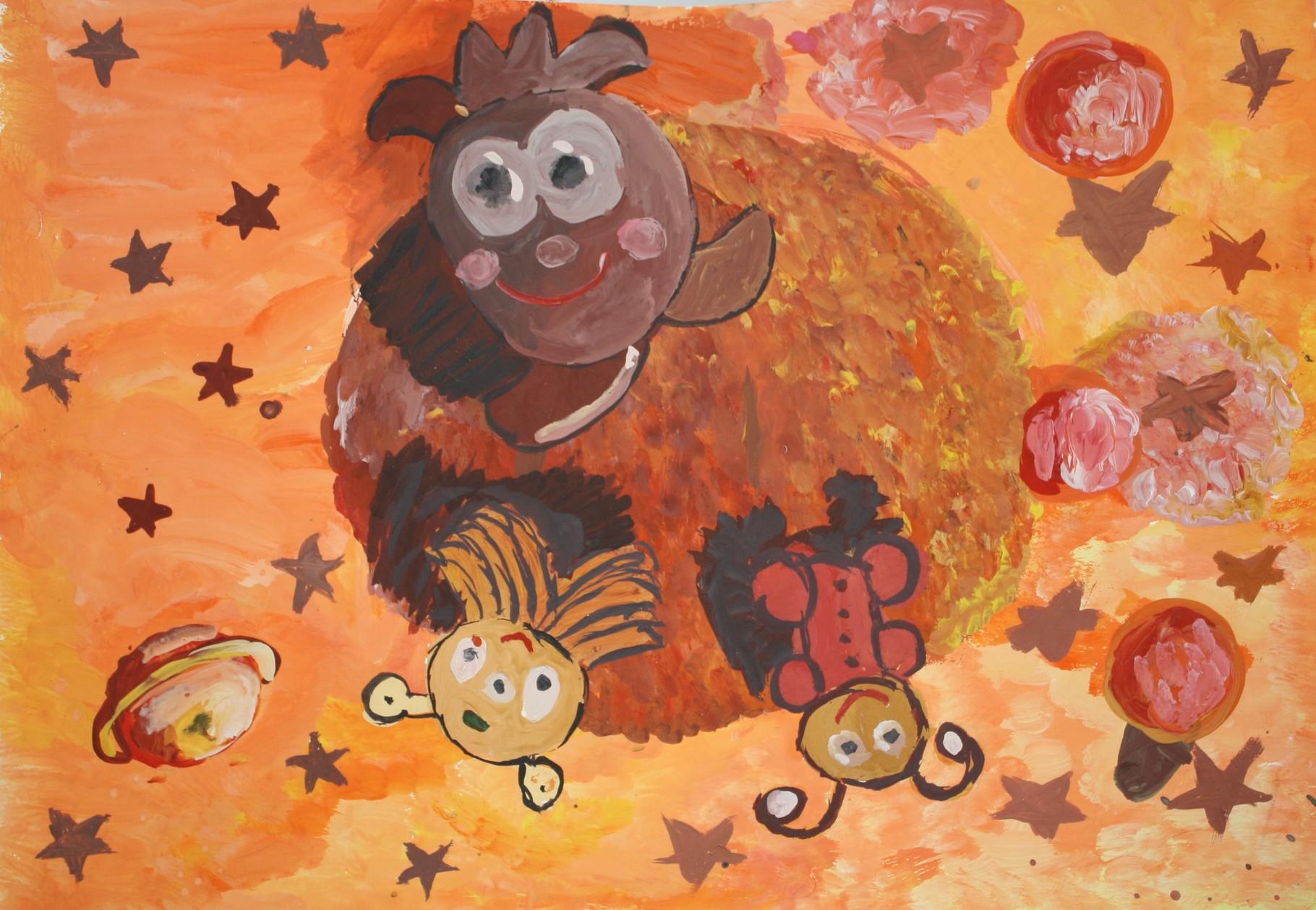 """Радюкова Полина, 9 лет, """"Апельсино-планетяшки"""", МБУ ДО """"ДШИ №2""""имени А.П. Загвоздиной, пр. Н.Ю. Пономарёва"""