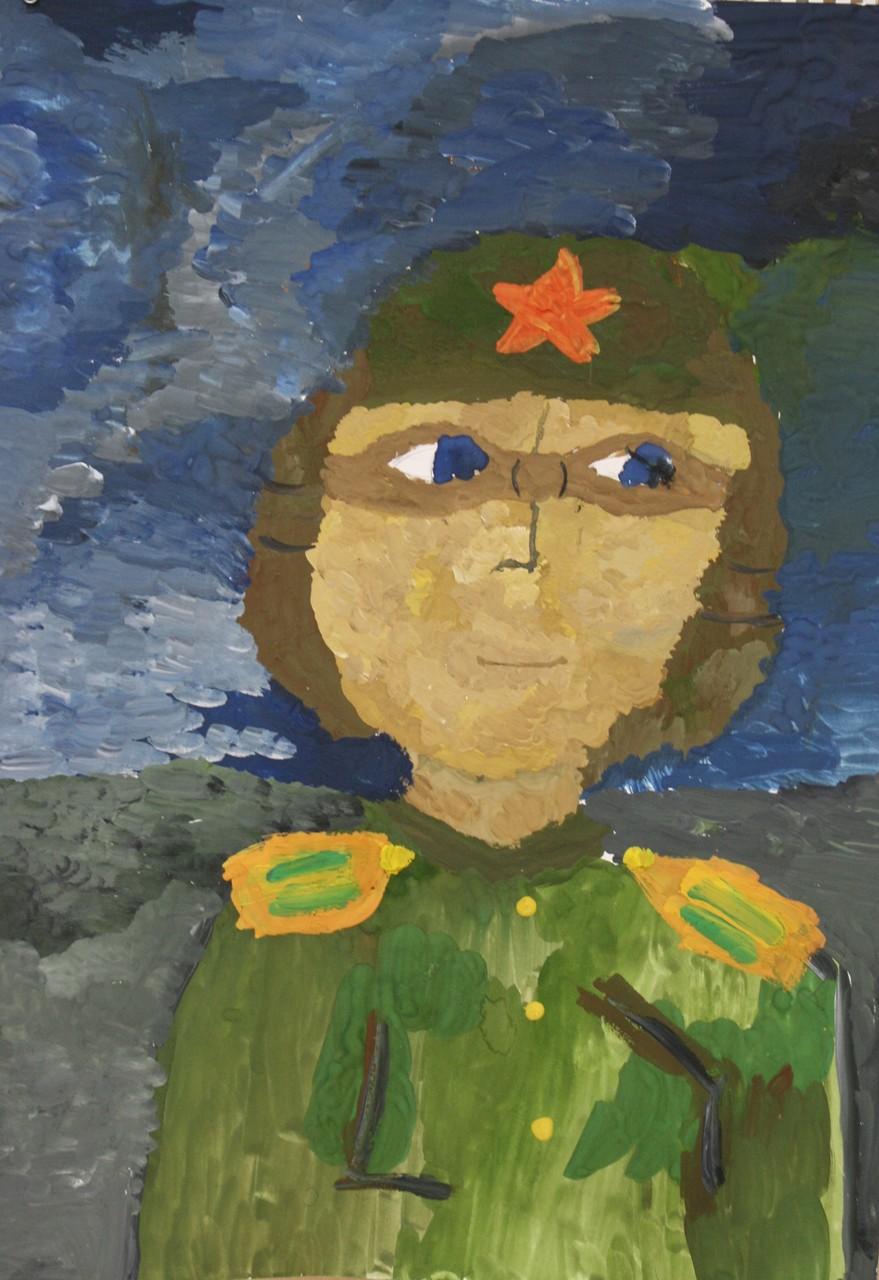 Автор - Кривоногова Кира, 9 лет, пр. Кривополенова И.Г.