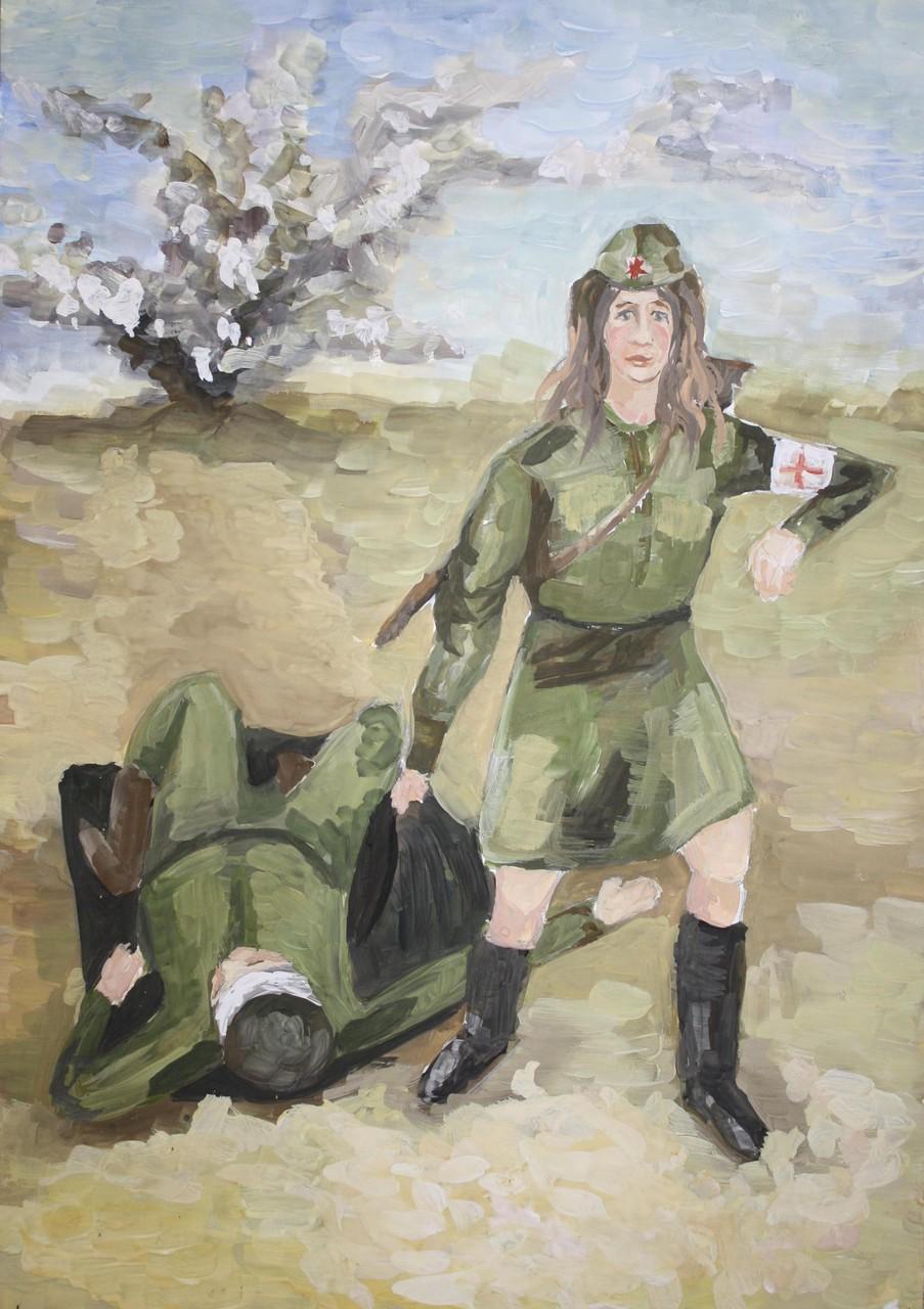 Автор - Бодрая Катя, 15 лет, пр. Мальцева Ю.В.