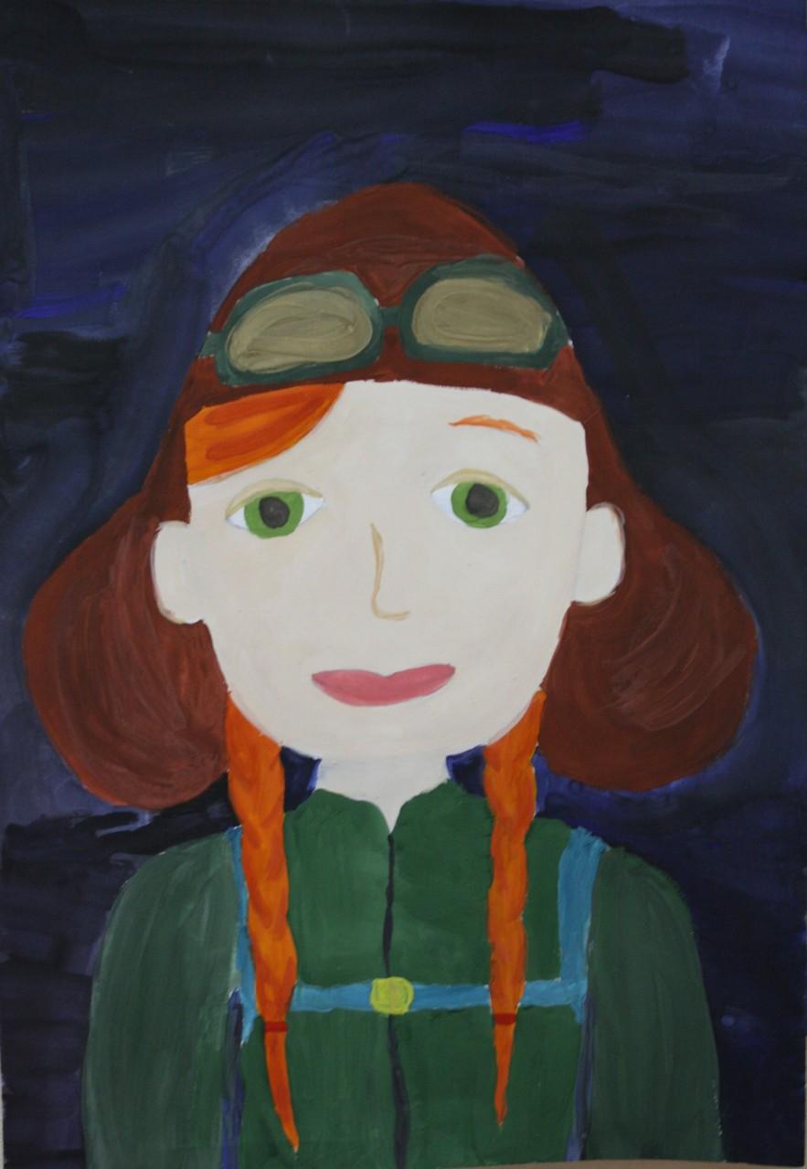 Автор - Клещинова Соня, 10 лет, пр.Кривополенова И.Г.