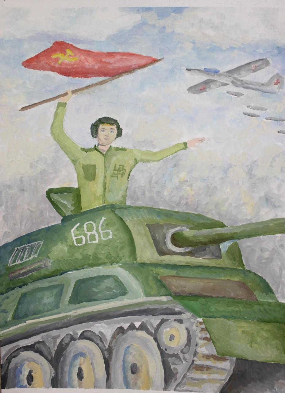 Автор - Некрасов Семён, пр. Мальцева Ю.В.