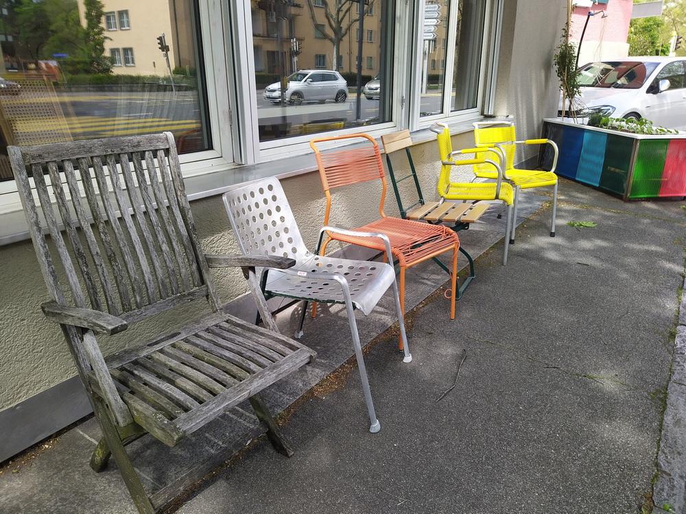 Gartenstühle flicken