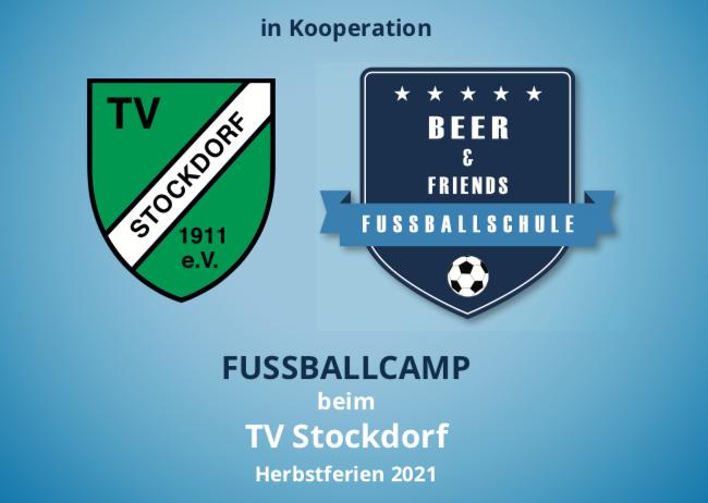 Fussballlcamp in den Herbstferien 2021 beim TV Stockdorf