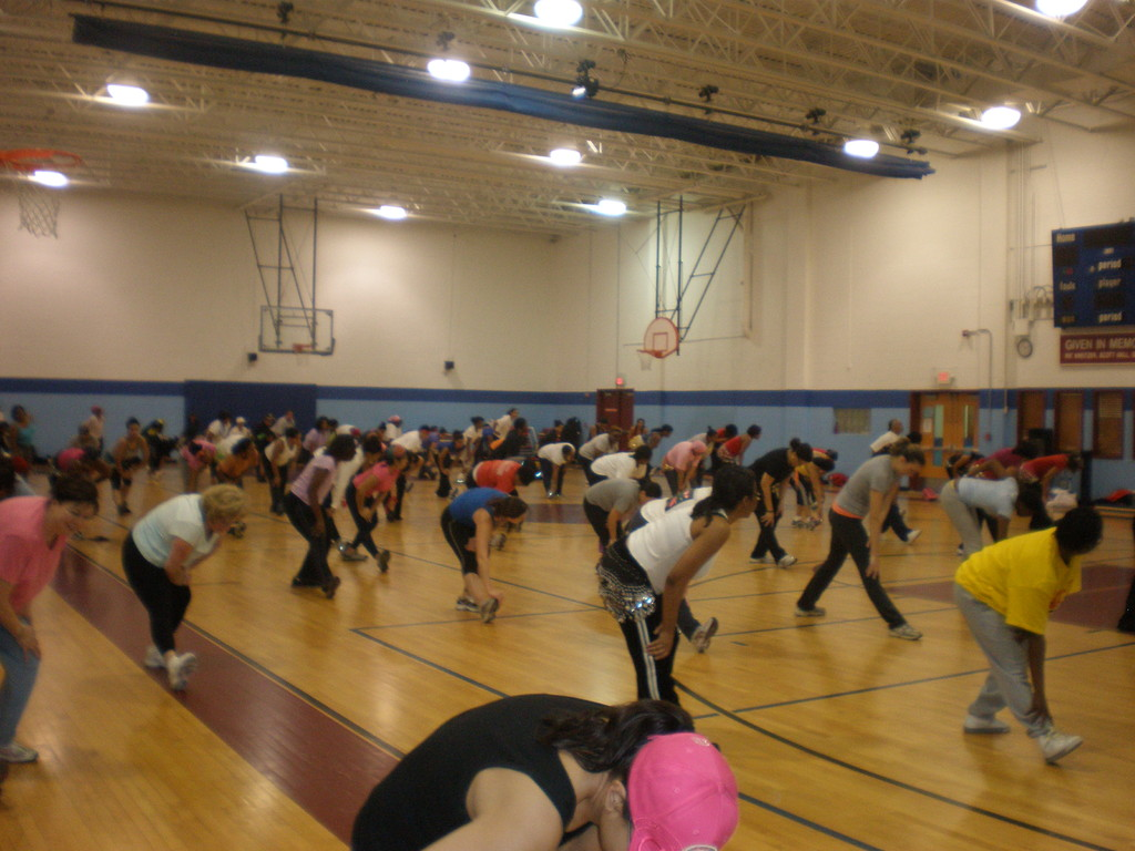 Bowie Class during cool down