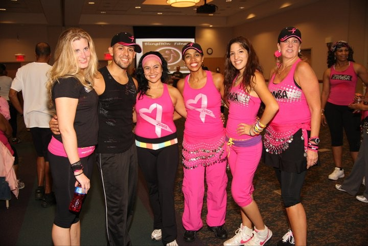 Breast Cancer awareness Zumbathon