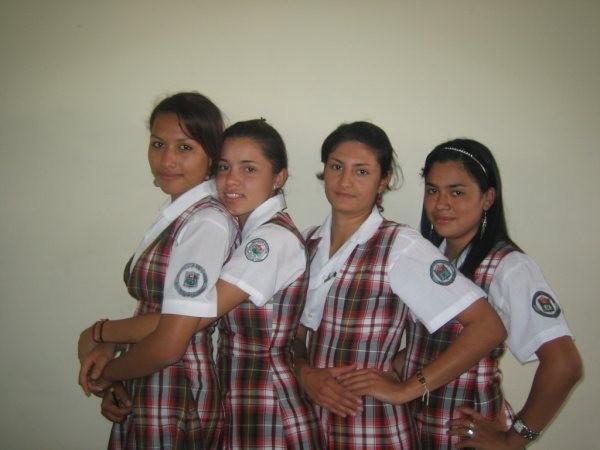 Mónica, Angélica, Sandra, Daniela