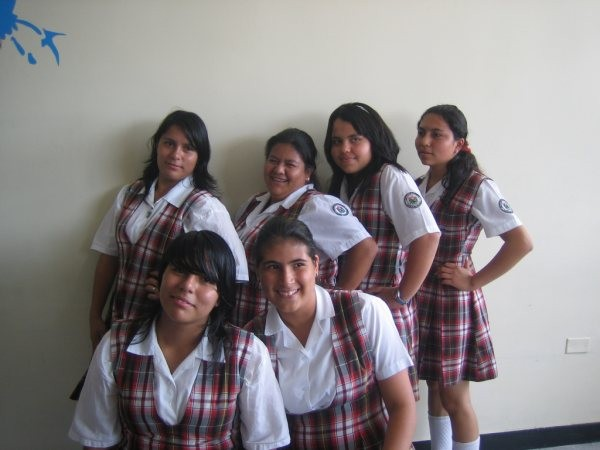 Milena, Mónica, Laura, Leidy,Yessica Liseth, Alejandra