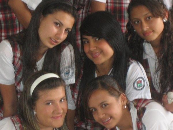 Lina, Jessica, Angélica, Katherine, Laura Juliana