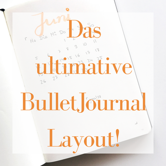 Postvorschlag 1: Das ultimative BulletJournal Layout