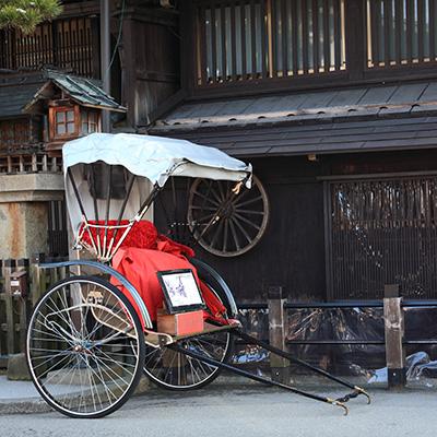 飛騨高山の人力車