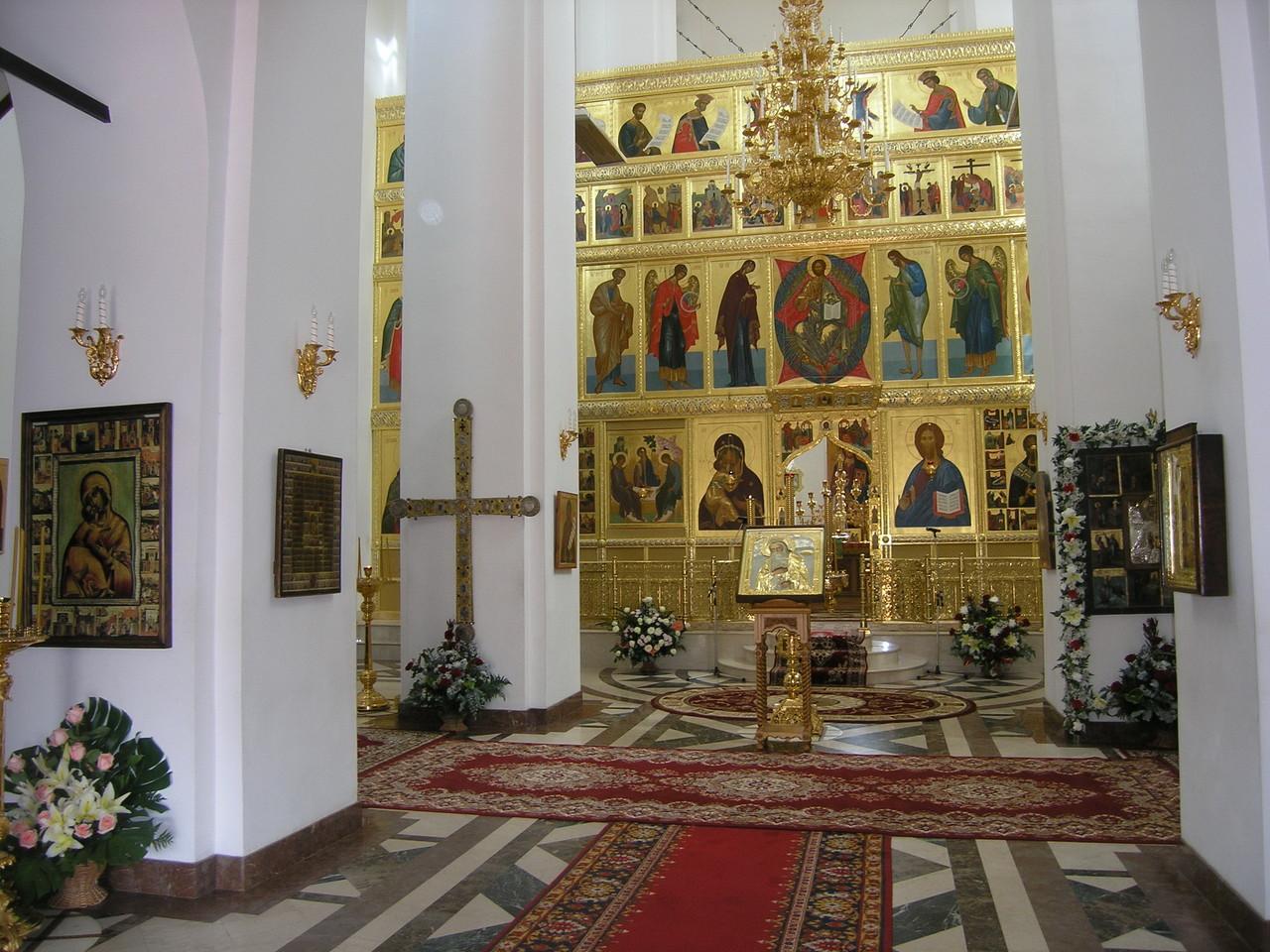 Иконостас Никольского собора