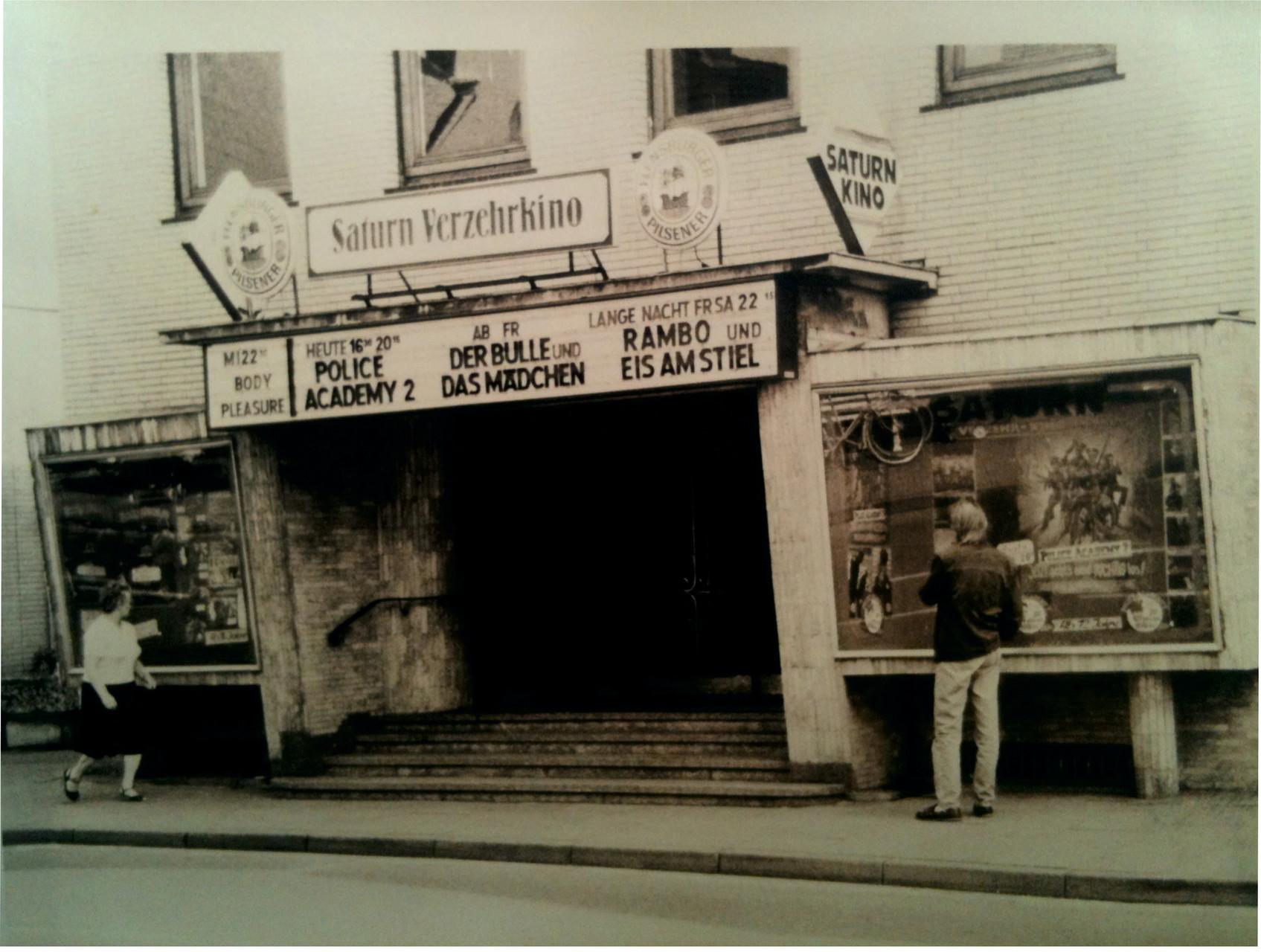 Das Saturn Kino im März 1985