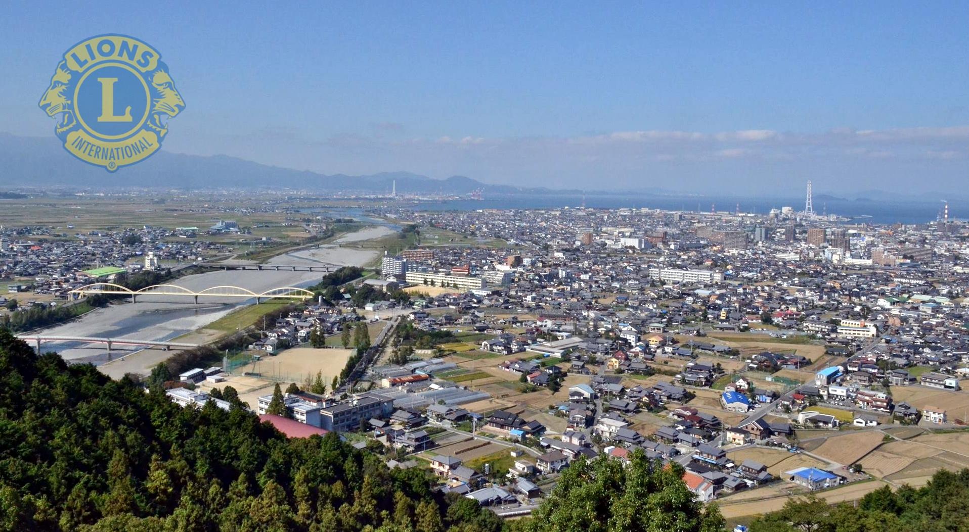 【愛媛県西条市内】八堂山より