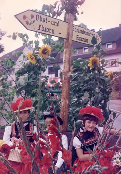 Festwagen Kinderfest Musikverein Fluorn 1988