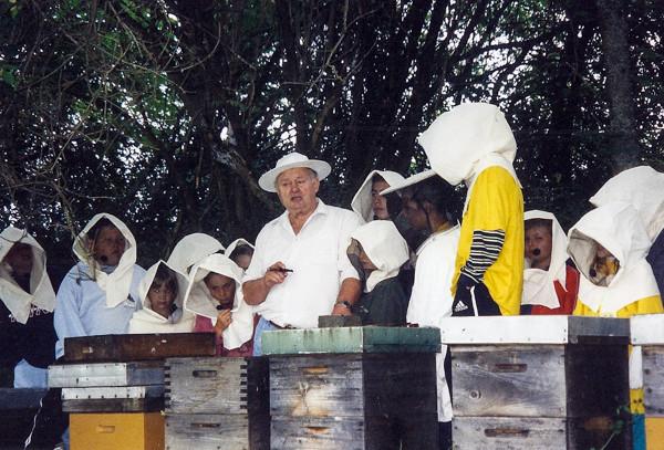 Kinderferienprogramm mit Ernst Blöchle, 2005