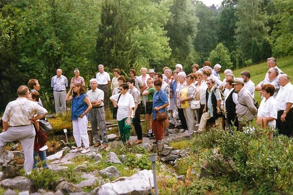 Vereinsausflug Botanischer Garten Uni Tübingen, 1999