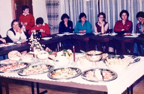 Lehrgang Wurst- und Käseplatten, 1983