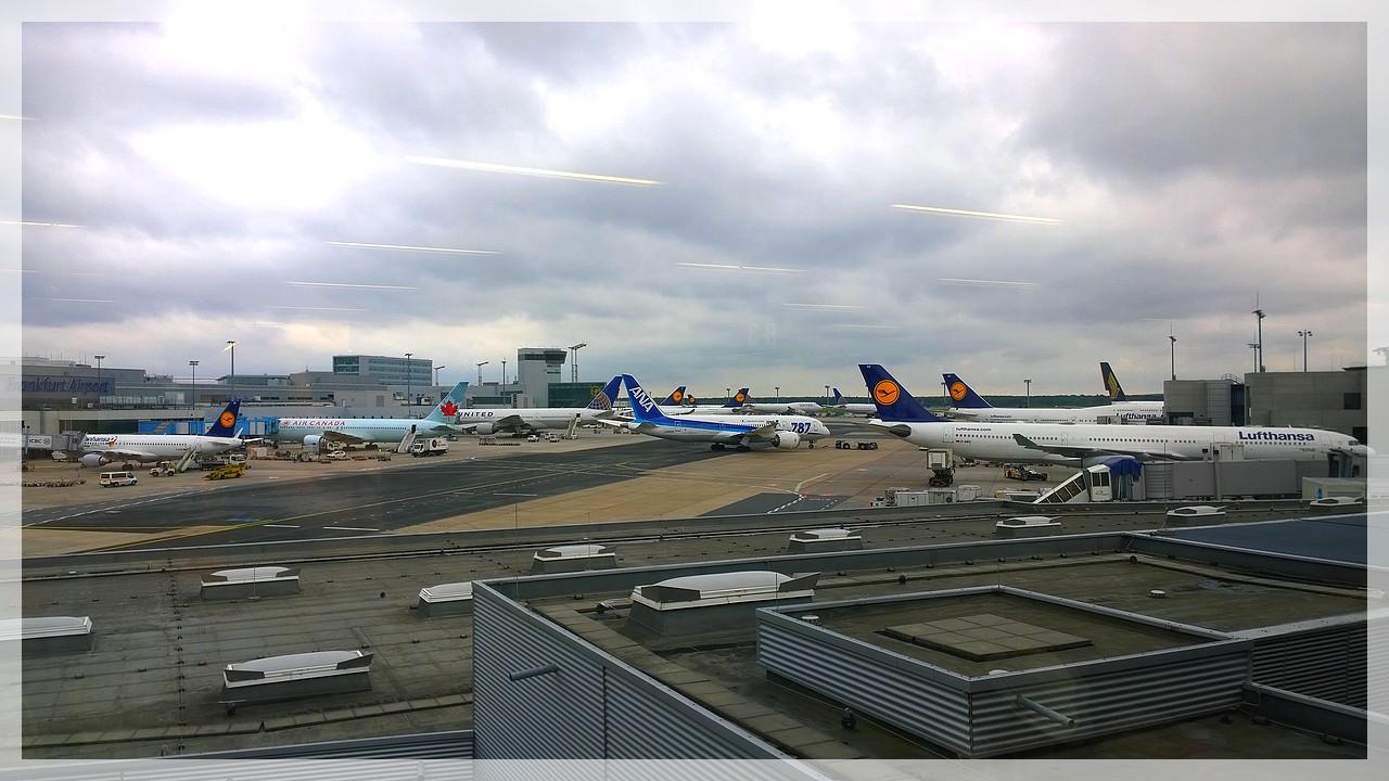 Heimatflughafen Frankfurt am Main