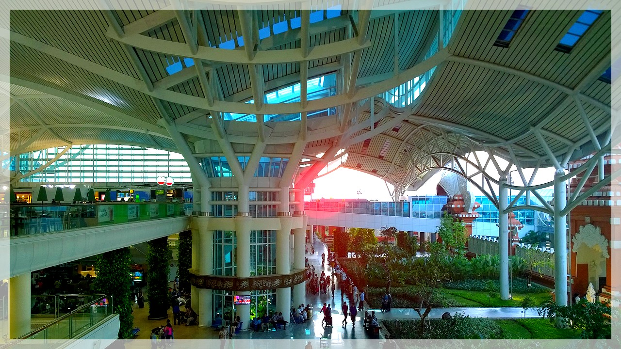 Airport Bali/Indonesien