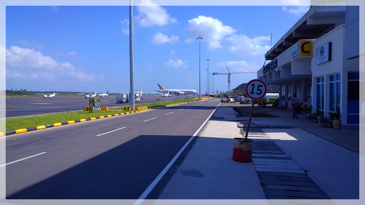 Airport Sansibar/Tansania