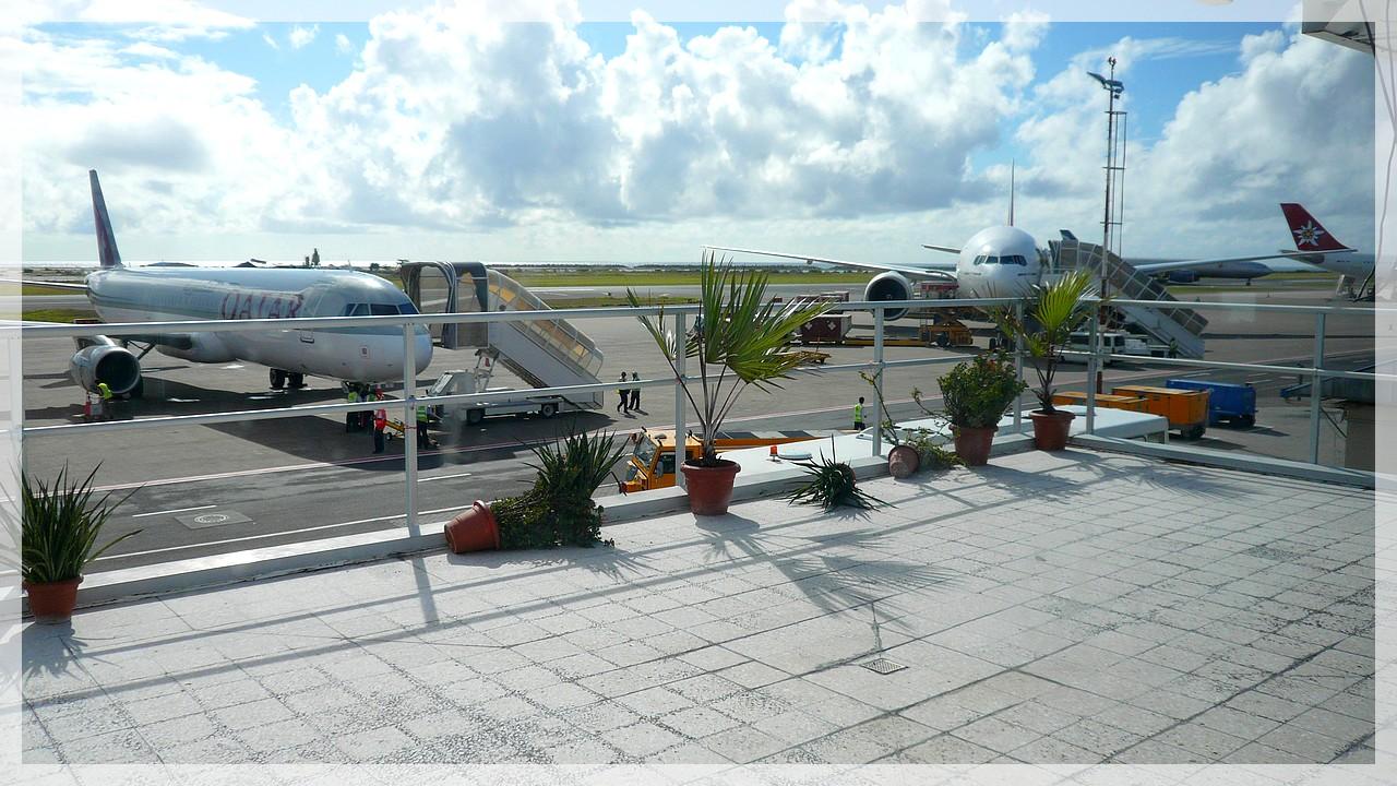 Airport Male/Malediven