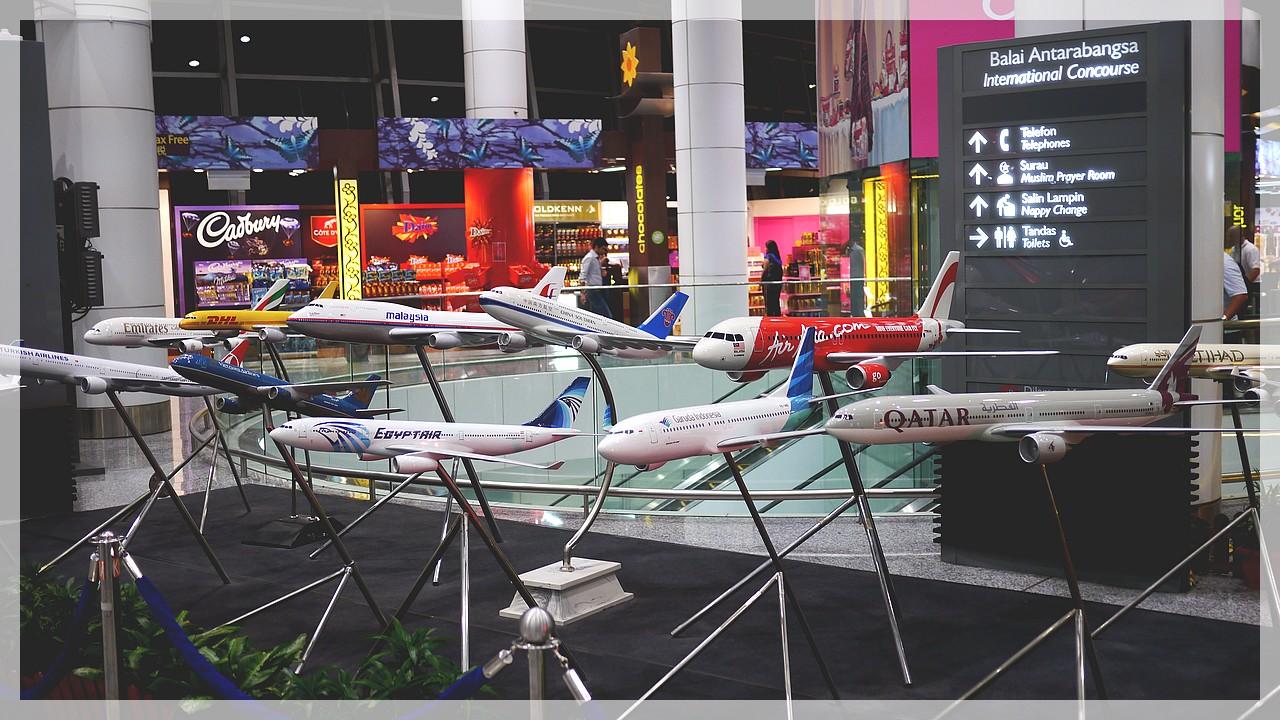 Airport Kuala Lumpur/Malaysia