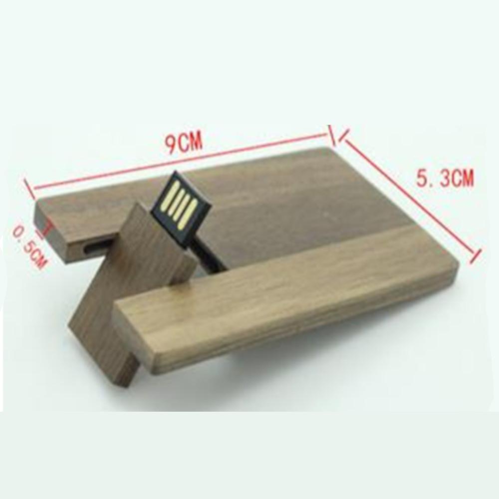 木製カードタイプ  MDK019*5.3*0.5cm