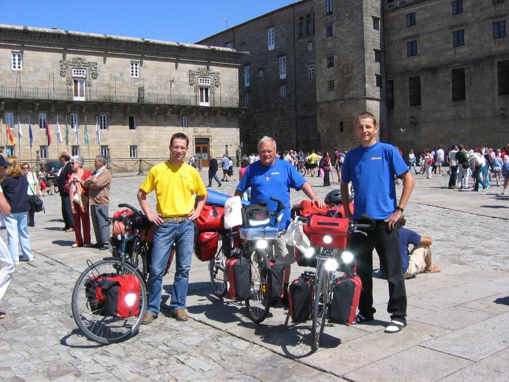 Fahrradtour Santiago