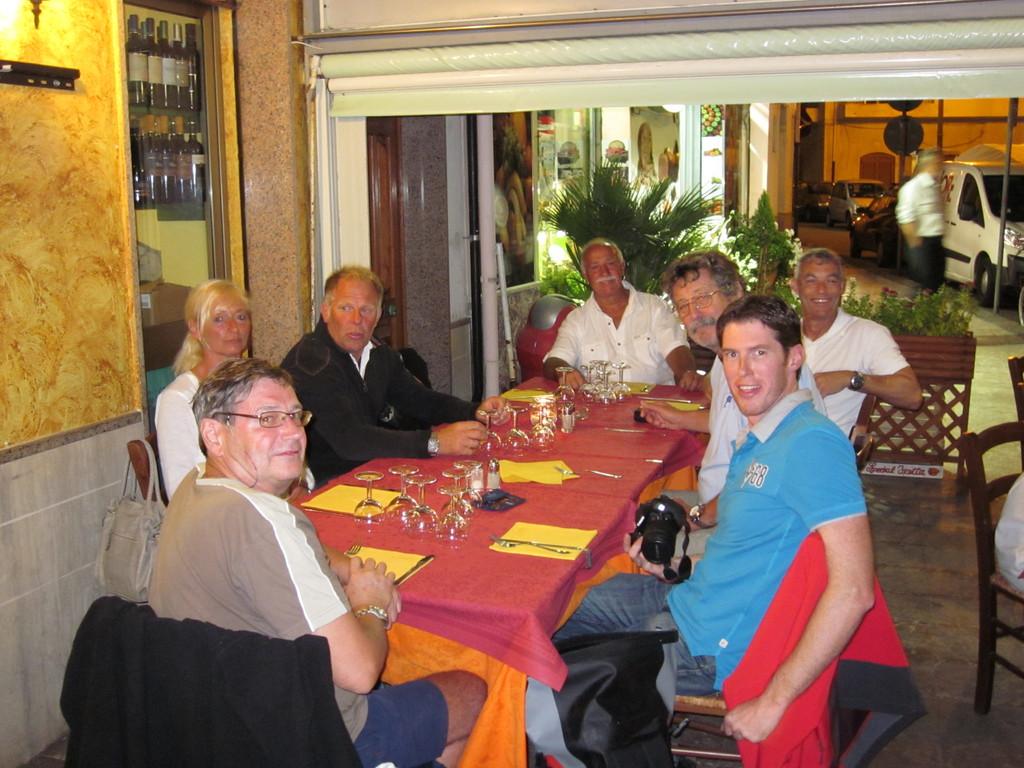 Überführungs-Crew Oktober 2011