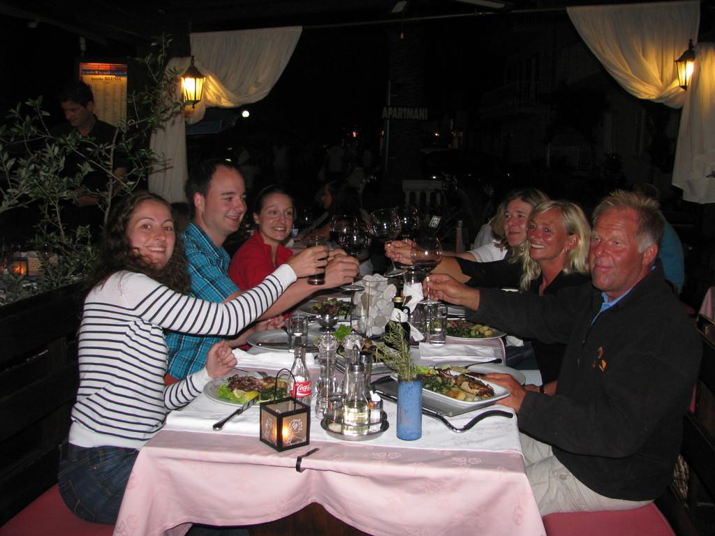 Mitsegel-Crew Katamaran Kroatien 2010