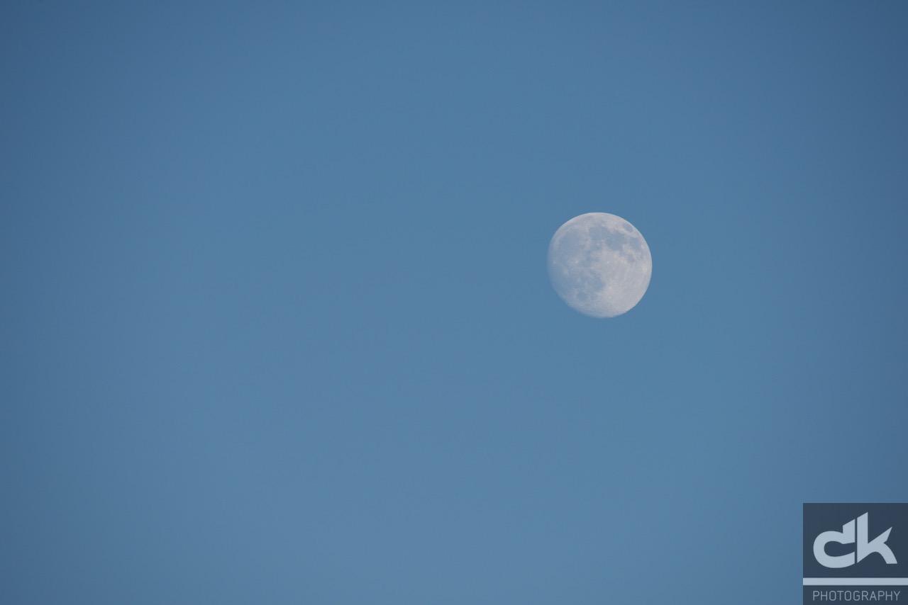 ...und dann war da noch der Mond!