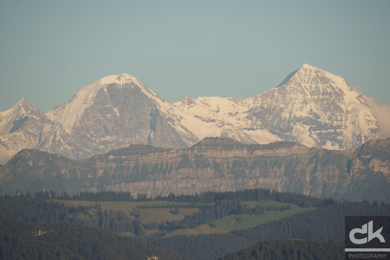 Eiger, Mönch
