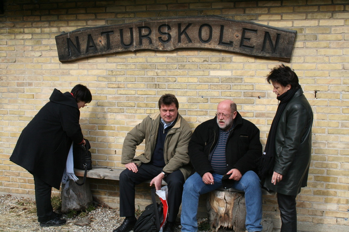 Naturskolen where children learn about nature.