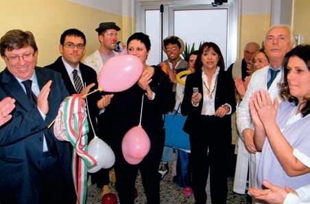 La nuova pediatria Ospedale di Recanati 2010