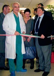 Inaugurazione centro unico di endoscopia a Civitanova Marche 2010