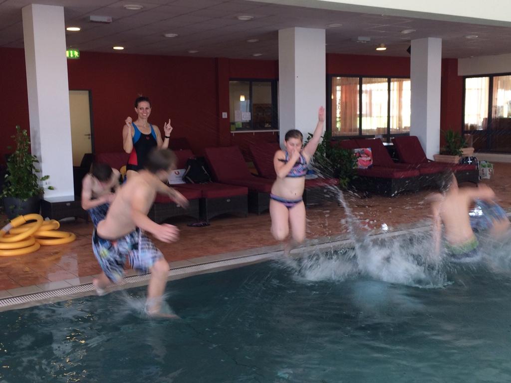 wir danken unserer Schwimmtrainerin Cornelia Hammerer für Ihren tollen Einsatz