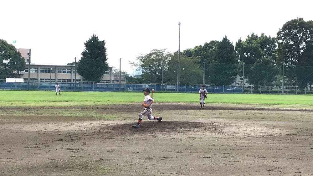 熊本 宇城ボーイズ 中学生 今田健太くんピッチング