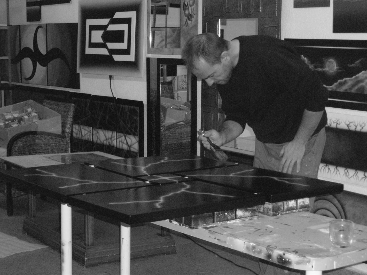 Venta de cuadros modernos abstractos pintados a mano - Cuadros pintados a mano online ...