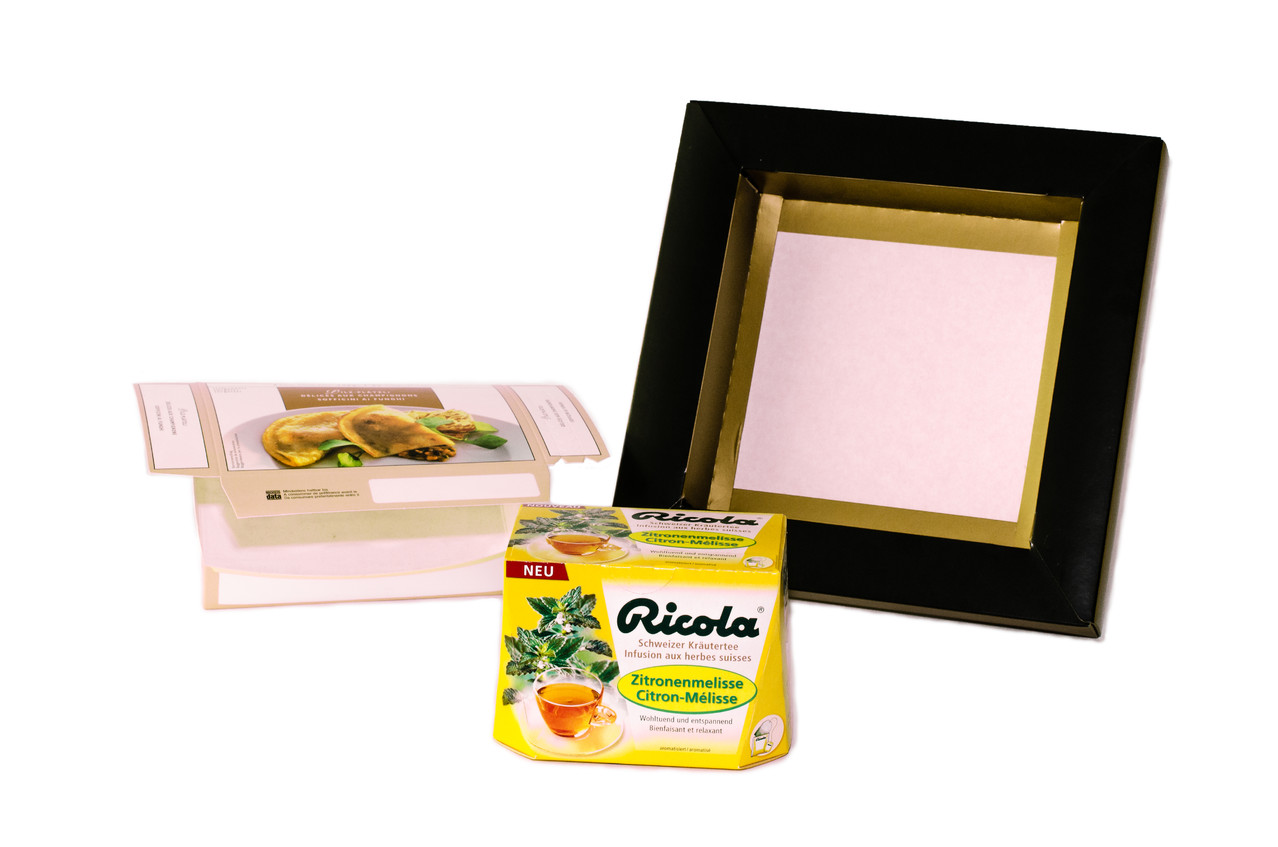 Special packages: Ricola, Blätzli, pluming packages