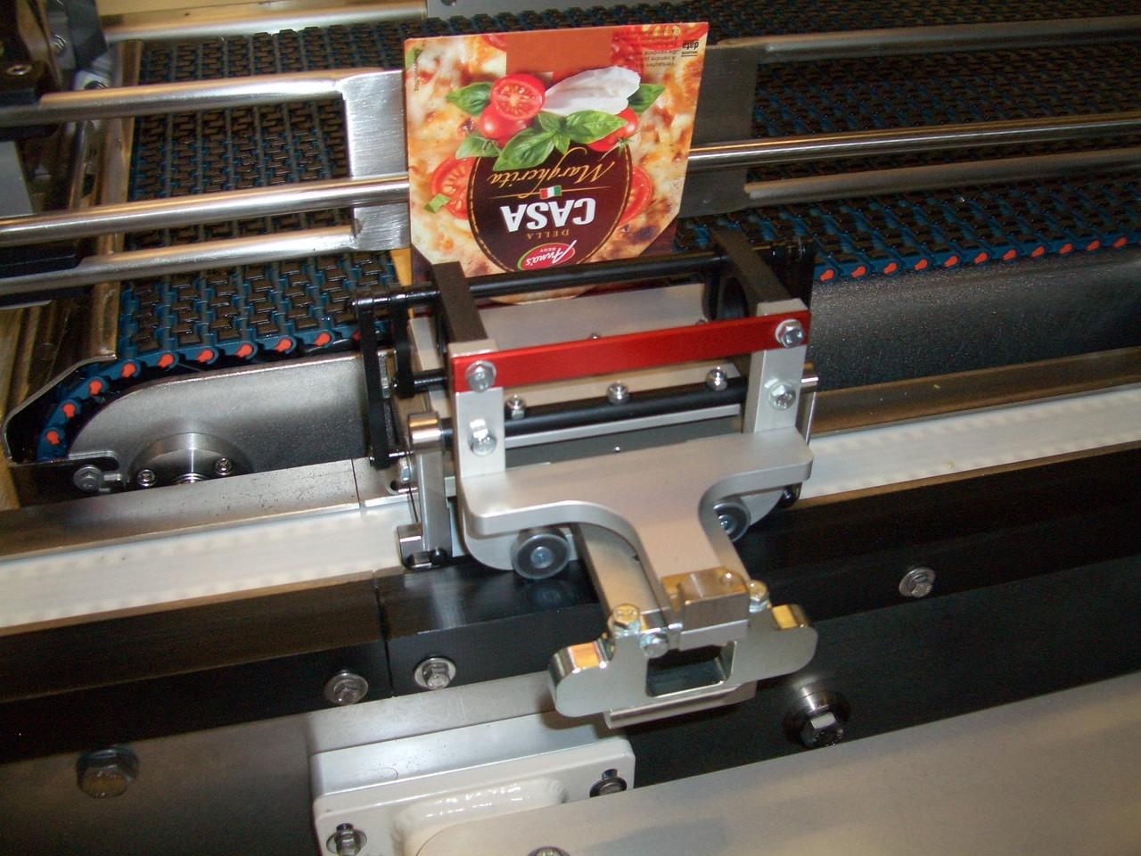 Klemmwagen von Pizzabereiterungsanlage