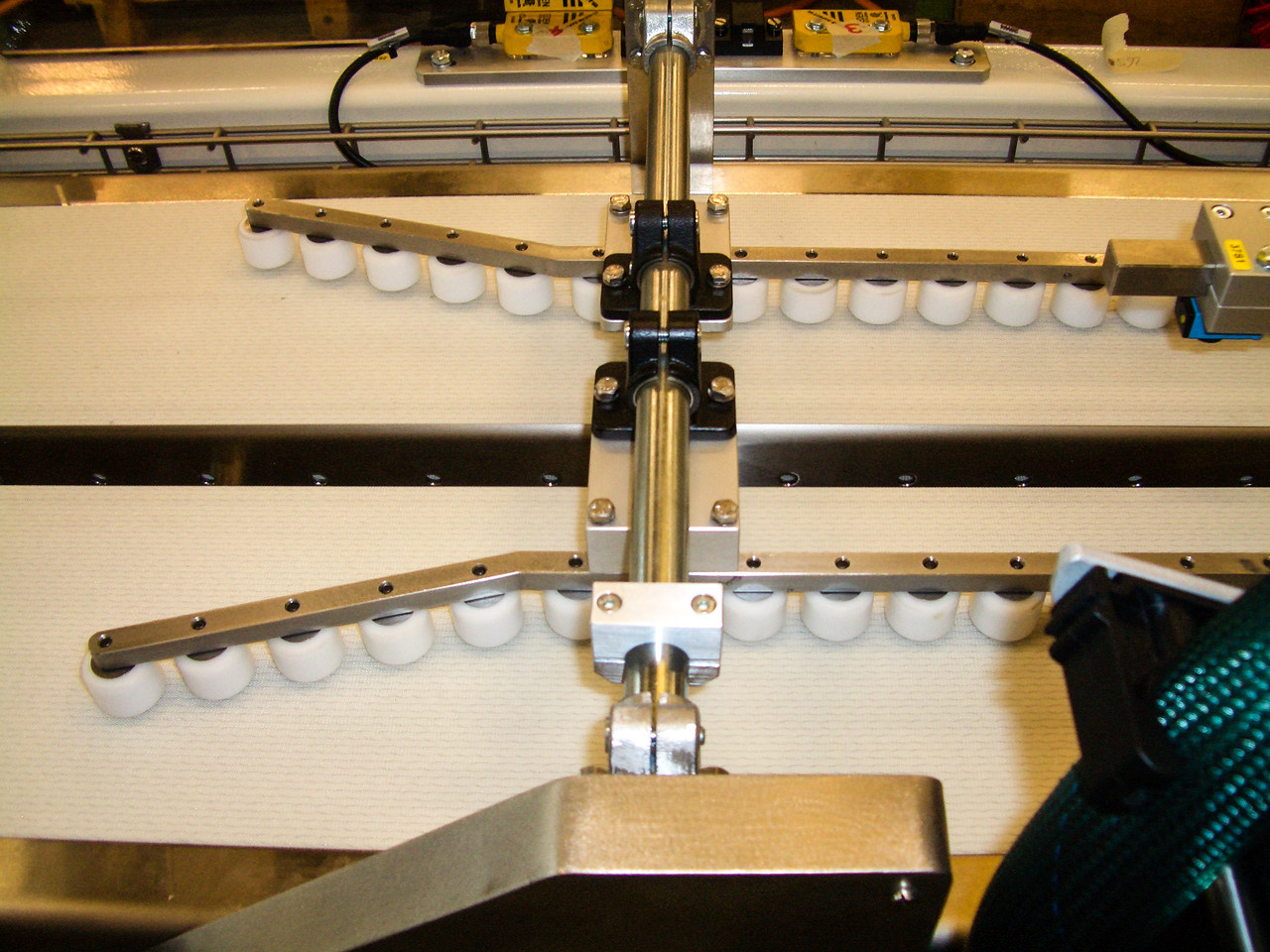 centering on conveyor