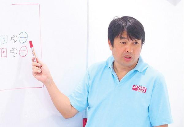 塾長の松田先生