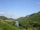 La vue du village en arrivant de l'Otium