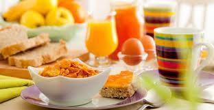 Le petit déjeuner pas si petit ...!