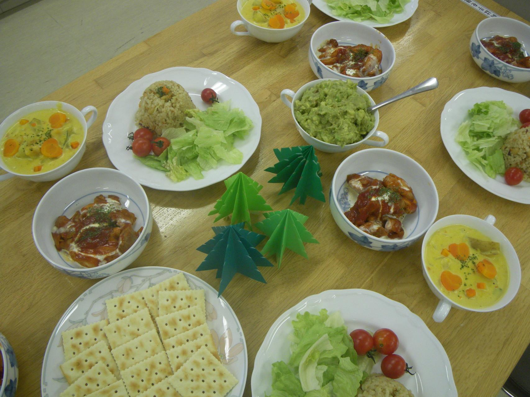 子どもリーダーで作ったおいしいお料理