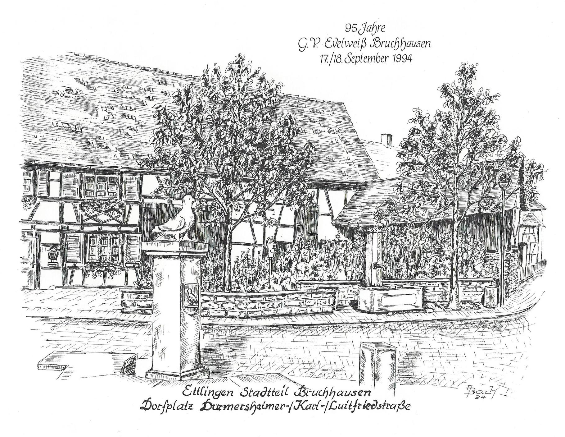 """Gesangverein """"Edelweiß"""" feiert 95. Geburtstag."""