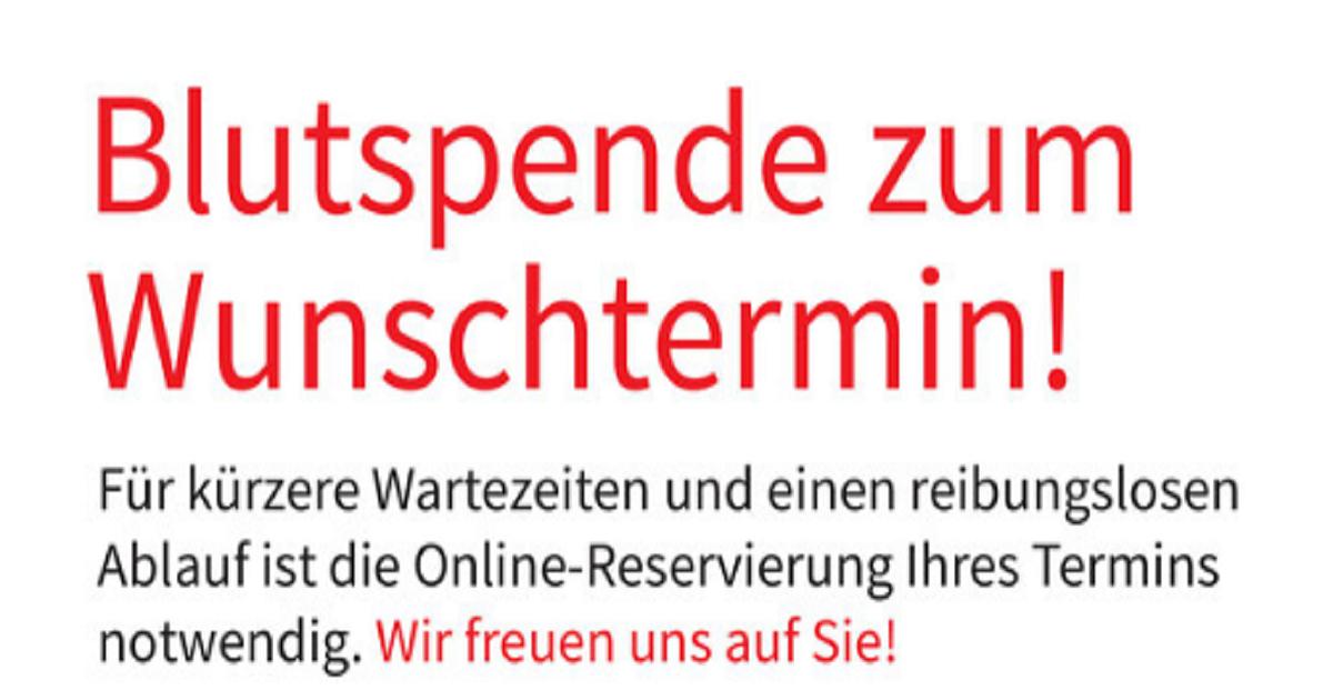 Blutspende in Rohrbach am 18.03.2021