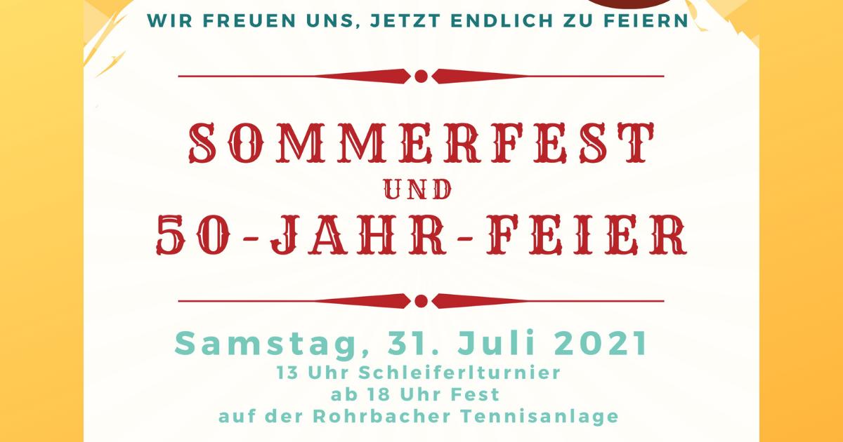 Sommerfest und 50-Jahr-Feier