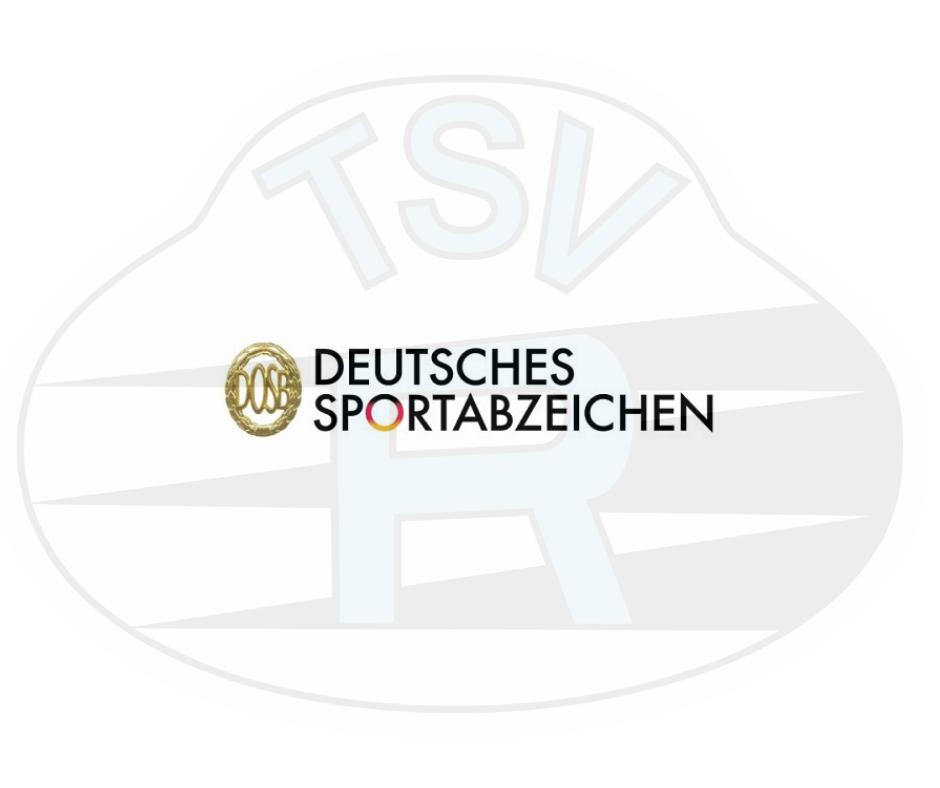 """Das """"Deutsche Sportabzeichen"""" wird überreicht"""